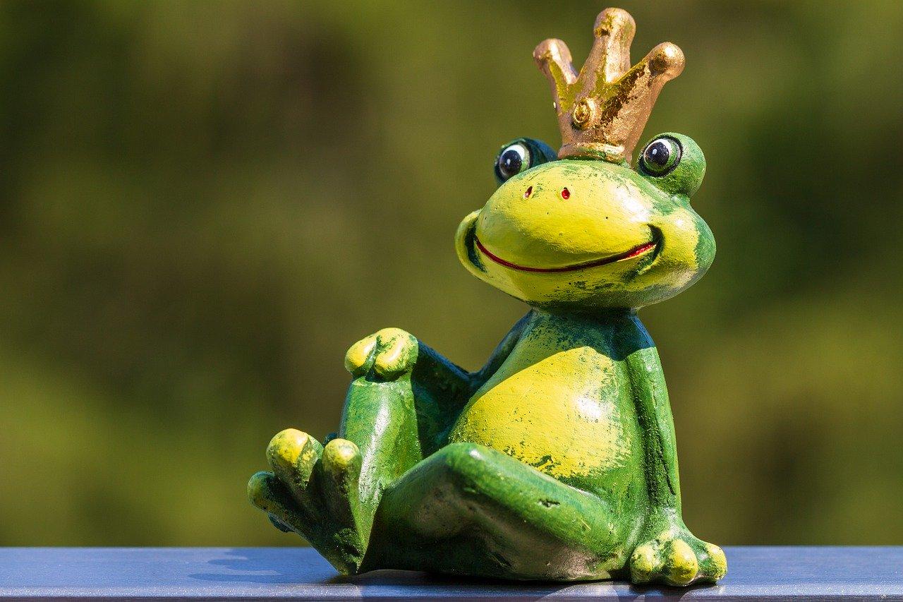 frog, figure, frog prince