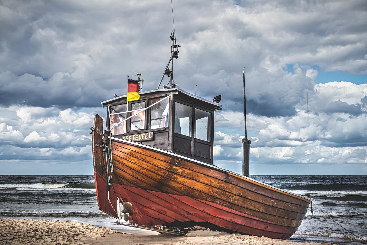 ship, boat, fishing boat